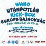 2019.07.12.: Kick-box: Közeledik az Európa-bajnokság!